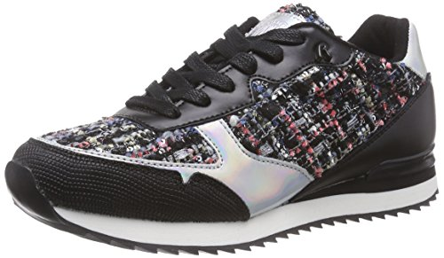 Replay Vollen, Low-Top Sneaker donna, Multicolore (Mehrfarbig (Blue Silver 1455)), 37