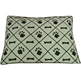 Ventex Sage Paws And Bones Design Pet Bed