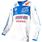 Troy Lee Designs SE Pro Team TLD/Adidas Limited Edition Men's MX/Off-Road/Dirt Bike Motorcycle Jersey - White / 2X-Large