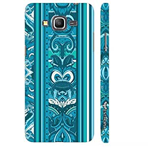 Samsung Galaxy J2 India Blues designer mobile hard shell case by Enthopia
