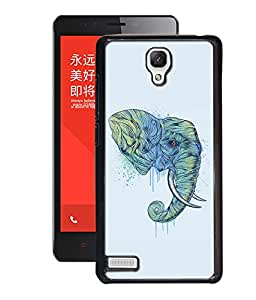 djipex DIGITAL PRINTED BACK COVER FOR XIAOMI REDMI NOTE 4G
