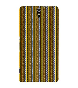 EPICCASE twisted drapes Mobile Back Case Cover For Sony Xperia C5 Ultra Dual (Designer Case)