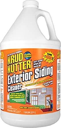 Amazon Com Krud Kutter Es01 Clear Exterior Siding Cleaner