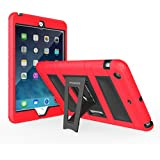 MoKo Silicone + Black Hard Polycarbonate Protector With Foldable Stand Cover Case For Mini 3, Mini 2 And Mini...
