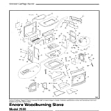 Vermont Castings Encore Woodburning Stove Catalytic