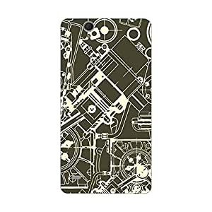 Sony C4 Cover - Hard plastic luxury designer case for Sony C4 -For Girls and Boys-Latest stylish design with full case print-Perfect custom fit case for your awesome device-protect your investment-Best lifetime print Guarantee-Giftroom 716