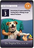 Desensitization and Counterconditioning: Teaching Dogs to Willingly Accept Medical Procedures