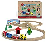 Peanuts Peanuts (Charlie Brown) Wooden Holiday Figure 8 Track Train Set (28 Piece)
