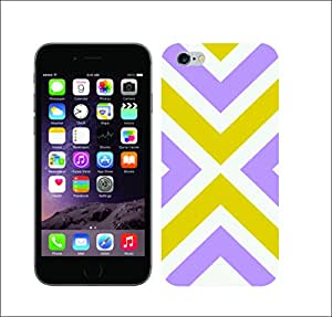 Galaxy Printed 1639 CHEVRON AND ARROWS CROSS ROAD Hard Cover for Apple Iphone 6 plus
