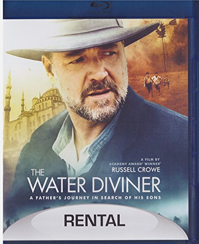 Water Diviner (Blu-ray,2015) Rental Exclusive