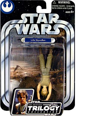 Star Wars Original Trilogy Collection OTC Luke Skywalker Dagobah Swamp (Upside Down) #01