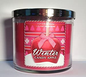 Bath Body Works Winter Candy Apple 3-Wick Scented Candle