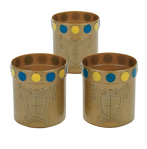 Knight Party Mugs - Royal Theme (1 dz)