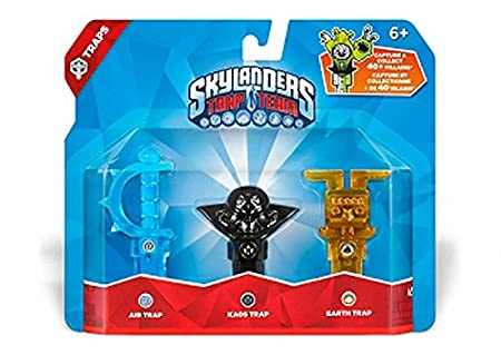 Skylanders Trap Team: Triple Trap Pack: Air, Kaos, Earth