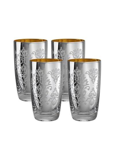 Artland Set of 4 Brocade 18-Oz. Highball Glasses