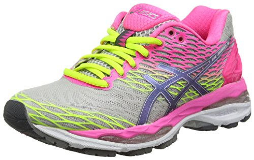 asics-gel-nimbus-18-womens-running-shoes-grey-silver-titanium-hot-pink-9397-55-uk