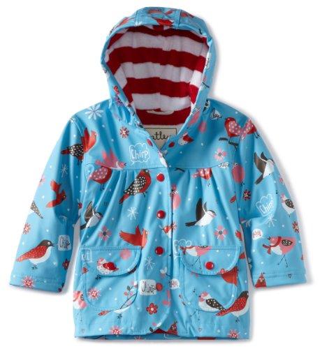 Hatley Winter Birds Girl's Rain Coat