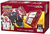 Video Games - Nintendo 2DS (Transparent Rot) inkl. Pokemon Omega Rubin