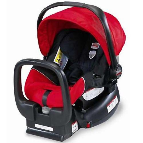 Britax Chaperone Infant Carrier - Red -- red