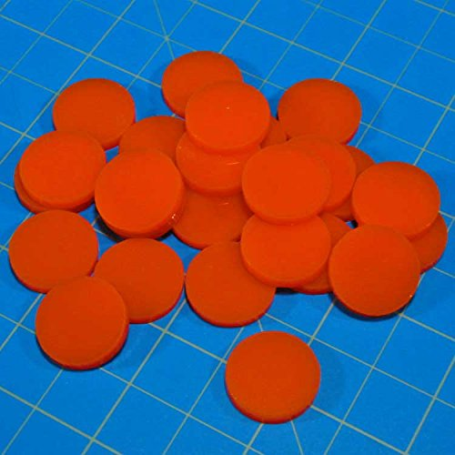 Game Tokens: Orange - 1