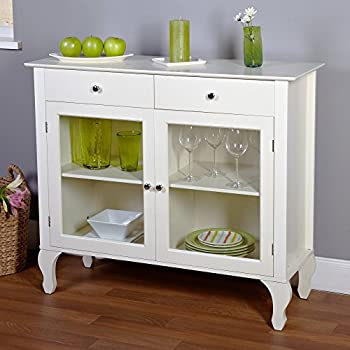 Layla Buffet Finish: Antique White