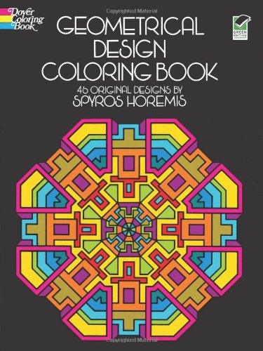 Geometrical Design Coloring Book (Dover Design Coloring Books), Buch
