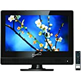 SuperSonic 13.3-Inch 1080p LED Widescreen HDTV, HDMI Input, AC/DC Compatible (SC-1311)