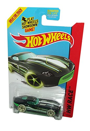 2014 Hot Wheels 189/250 Hw Race - Fast Felion (Black & Green)