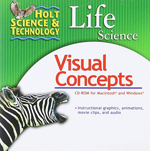 Holt Science & Technology: Life Science: Visual Concepts CD-ROM