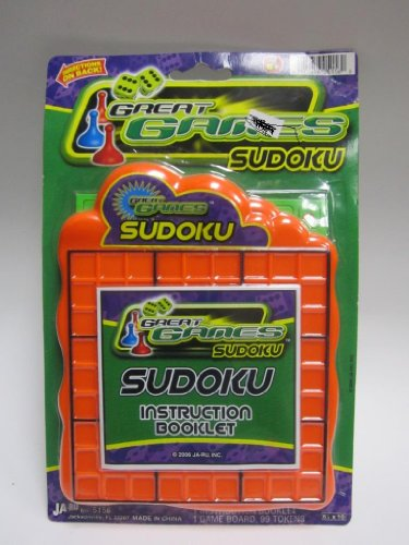 Ja-ru Great Games Sudoku Color May Very - 1