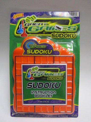 Ja-ru Great Games Sudoku Color May Very