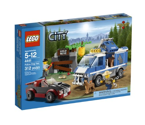 LEGO City Police Dog Van 4441 (Lego Truck And Camper compare prices)