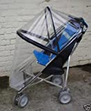 MACLAREN MAJOR ELITE SPECIAL NEEDS FRAMED RAINCOVER (CAN USE WITHOUT HOOD)PUSHCHAIR BUGGY STROLLER,SQUARE CLIPS
