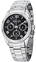 SO&CO York Men's 5009.1 Madison Analog Display Analog Quartz Silver Watch by SO&CO New York