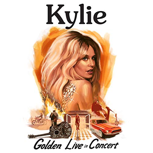 CD : KYLIE MINOGUE - Kylie - Golden - Live In Concert (3 Discos)
