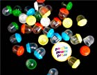 2500 1 1.1 MIXED COLORS Empty Acorn Capsules AA for Gumball Toy Vending Machine from PeoplePowerPress
