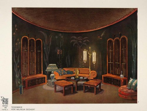 1928 art deco tea room