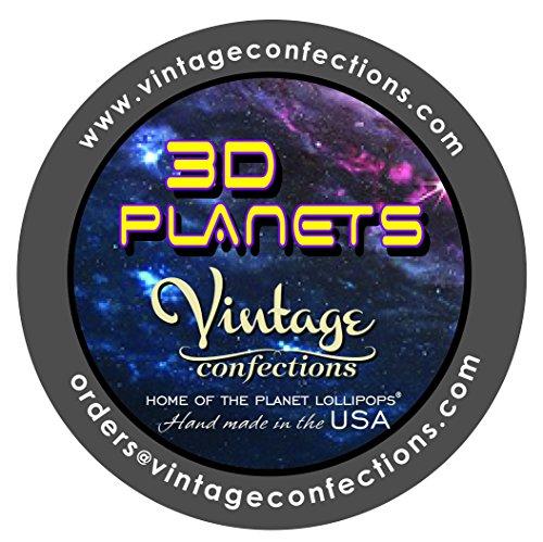 Vintage Confections 3d Planet Lollipops®