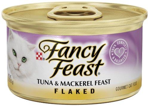 Fancy Feast Flaked Tuna & Mackerel Feast
