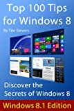 img - for Top 100 Tips for Windows 8 book / textbook / text book