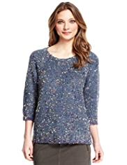 Indigo Collection Multi Ribbon Jumper
