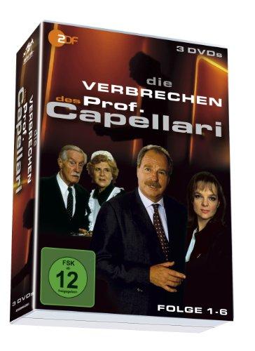 Die Verbrechen des Professor Capellari - Folge 1-6 auf drei DVDs!