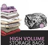 Pack Mate 2 Jumbo Volume Black Vacuum Storage Bags 90cm x 110cm x 44cm
