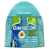 Gaviscon Heartburn & Indigestion Relief Tablets Handy Pack - Peppermint - 20 Tablets