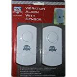 """ABC Products"" - Package of 2 ~ Window or Door ~ Vibration Alarm -With Security Sensor (Dectects Shock and Sudden Impacts to Window or Door - Alarm Sounds)."