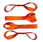 Soft Loops Tie-Down Straps (4-Pack) -...