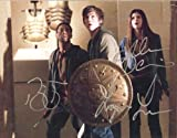 PERCY JACKSON & THE OLYMPIANS reprint signed cast photo RP