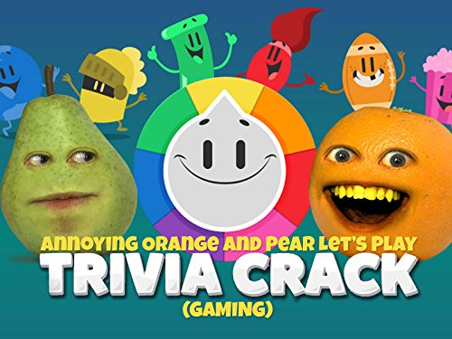 Clip: Annoying Orange and Pear Let's Play Trivia Crack (Gaming) - Season 1