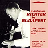 Sviatoslav Richter in Budapest (The Concert of 9 February 1958)