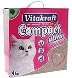 Vitakraft 14029 Litière Compact Ultra pour chat 4 kg